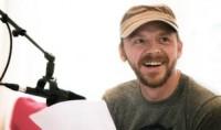 Simon Pegg Recording