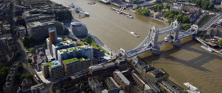 Large mixed-use scheme – One Tower Bridge